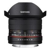 Objetivo Samyang Ojo de pez 12 mm f/2.8 para Sony A