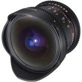 Samyang 12mm VDSLR T3.1 Fish-eye Lens Canon