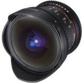 Samyang 12 mm VDSLR T3.1 Fish-eye Lens Nikon