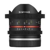 Samyang 8mm T3.1 VDSLR UMC CSC Lens Sony E