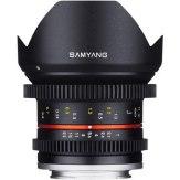Objetivo Samyang 12mm V-DSLR T2.2 NCS CS Sony E Negro