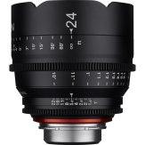 Objetivo Samyang Xeen 24mm T1.5 VDSLR FF Cine MFT