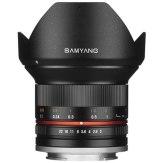 Objetivo Samyang 12mm f/2.0 NCS CS Fuji X Negro