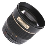 Samyang 85mm f/1.4 IF MC Aspherical Lens Nikon