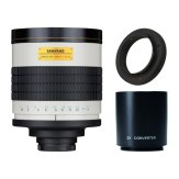 Súper Teleobjetivo Samyang 800-1600mm f/8 MC IF Sony A + Duplicador 2x