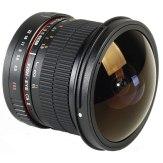 Samyang 8mm f/3.5 Fish-eye CS II Lens Nikon AE