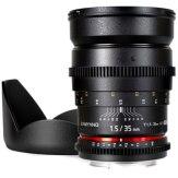 Objetivo Samyang 35mm T1.5 V-DSLR ED AS IF UMC Nikon