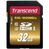 Memoria Transcend SDHC 32GB Class 10 UHS-I Speed Class 3