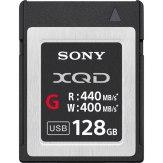 Memoria Sony XQD G 128GB 400MB/s