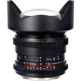 Samyang 14mm VDSLR T3.1 ED AS UMC MKII Lens Canon