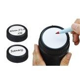 Writable Rear Lens Cap for Canon