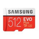 Tarjeta de memoria Samsung EVO+ microSDXC 512GB 100MB/s