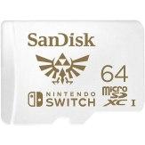 Tarjeta microSDXC SanDisk para Nintendo Switch 64GB 100MB/s