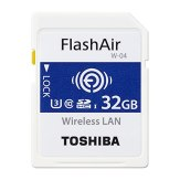 Memoria Toshiba SDHC FlashAir W-04 32GB