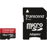Memoria microSDXC Transcend 128GB 300x Premium + Adaptador