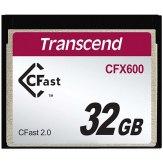 Memoria Transcend CFast 2.0 CFX600  32GB