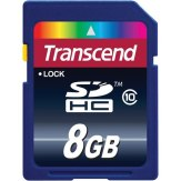 Memoria SDHC Transcend 8GB Clase 10