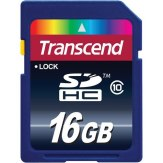 Memoria SDHC Transcend 16GB Clase 10