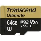 Memoria microSDXC Transcend  64GB UHS-I MLC U3M