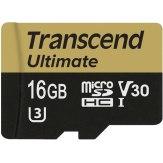 Memoria microSDHC Transcend 16GB UHS-I MLC U3M