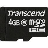 Transcend 4GB MicroSDHC Card Class 6