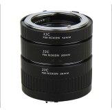 Kit 3 Tubos de extensión automáticos AET-NS para Nikon F