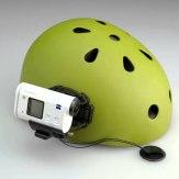 Soporte lateral para casco VCT-HSM1 para Action Cam Sony