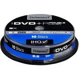 1x10 Intenso DVD+R Regrabable 8,5GB 8x Speed