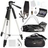 Kit de accesorios Bower para cámara DSLR + 12 en 1