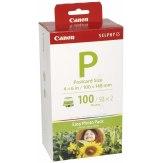 Papel fotográfico y tinta Canon E-P100