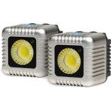 Antorchas LED Lume Cube Kit x2 Plata