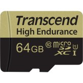 Transcend High Endurance microSDXC 64GB 90MB/s