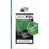 Protector de pantalla Crocfol Titan Hybrid Glass Canon EOS 760D