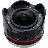 Samyang 7.5mm f/3.5 UMC Fish-eye Lens Micro 4/3 Black