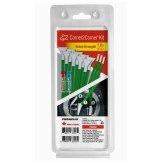 Kit de x12 brochas duras Visible Dust EZ Corner2Corner 1.0x verde