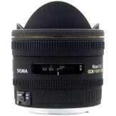 Objetivo Sigma EX 10mm f/2.8 fisheye DC HSM AF Canon