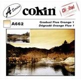 Filtro Cokin Serie A Degradado Naranja Fluo 1 A662