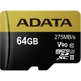 ADATA microSDXC 64GB UHS-II U3 Clase 10 275MB/s