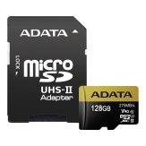 ADATA Memoria microSDXC 128GB U3 + Adaptador