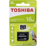 Toshiba Memoria microSDHC 16GB Clase 10