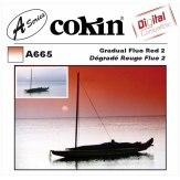 Filtro Cokin Serie A Degradado Rojo Fluo 2 A665