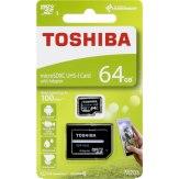 Toshiba Memoria microSDXC 64GB Clase 10