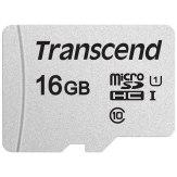 Transcend Memoria microSDHC 16GB 300S