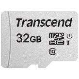 Transcend Memoria microSDHC 32GB 300S