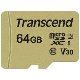 Transcend microSDXC 500S 64GB 95MB/s