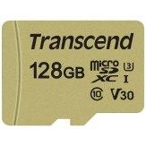 Transcend Memoria microSDXC 128GB 500S