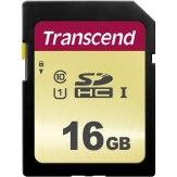 Transcend Memoria SDHC 16GB 500S