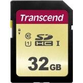 Transcend Memoria SDHC 32GB 500S