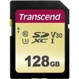 Transcend Memoria SDXC 128GB 500S