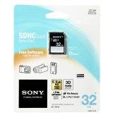 Memoria SDHC Sony 32GB Class 4
